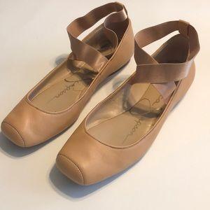 Jessica Simpson Ballet Flats 9M